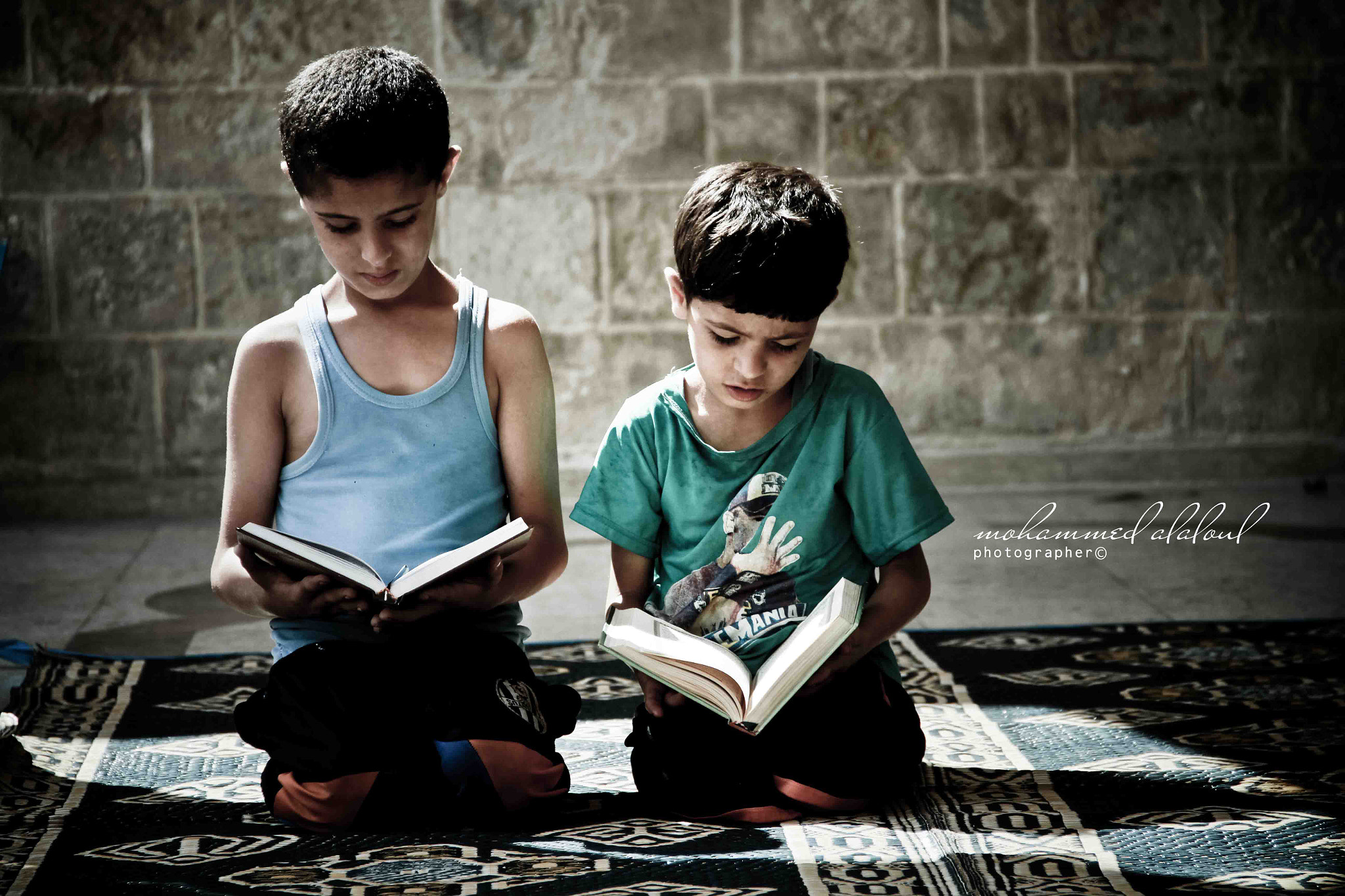 Photograph Brothers read the Koran mosque by Mohammed Al Aloul on 500px