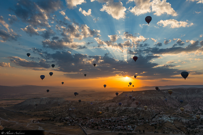 Photograph Dawn of the Balloons by Alessio Andreani on 500px