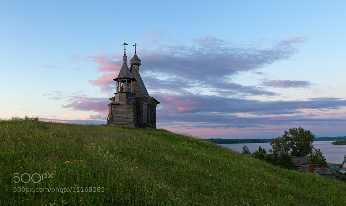 Photograph White nghts in Russia, st.Nickolas chapel by Sergey Ershov on 500px