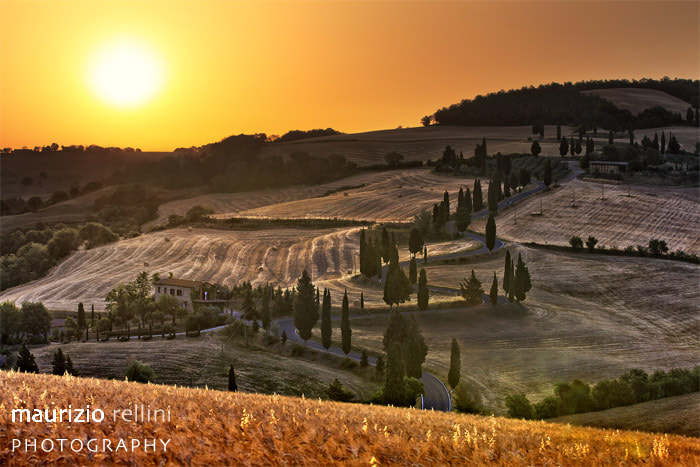 Photograph Val 'Orcia sunrise by Maurizio Rellini on 500px