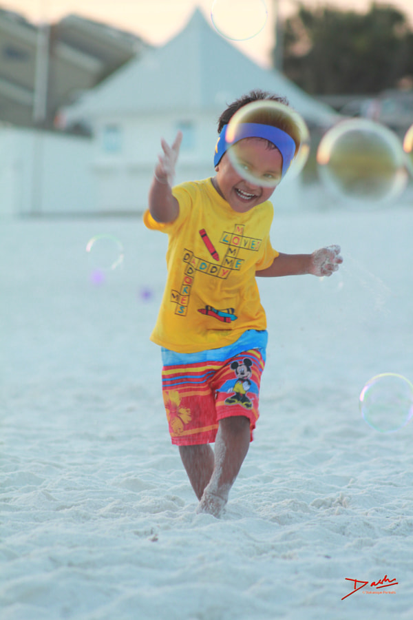 Portrait - Bubbles in Destin, FL