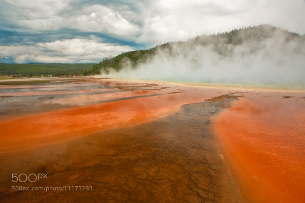 Photograph Midway Geyser - Yellowstone by Jack Booth on 500px