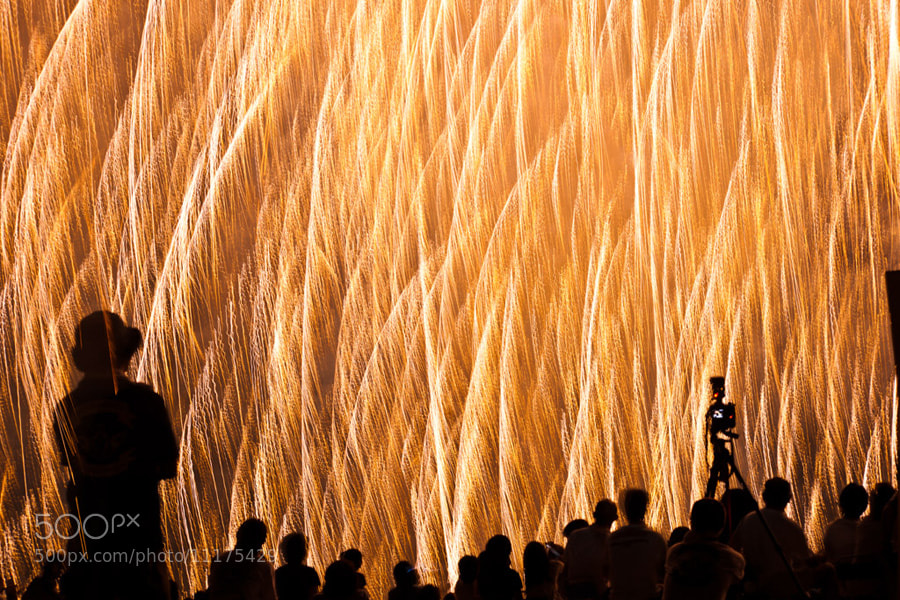 Photograph Waterfall of flame by Hidemi Katayama on 500px