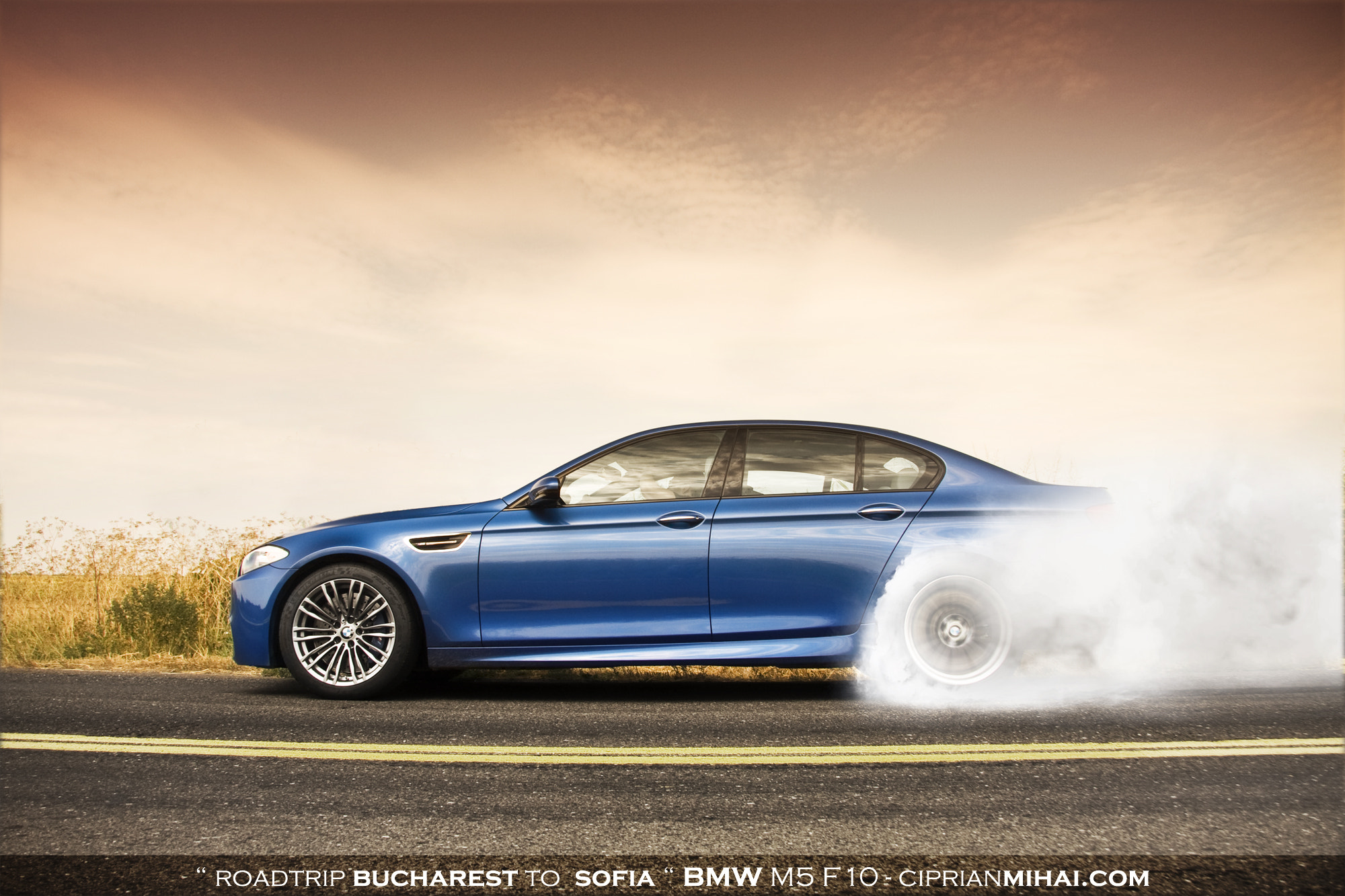 Photograph BMW M5 F10 by Ciprian Mihai on 500px