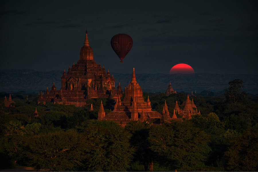 Photograph Bagan by enrico barletta on 500px