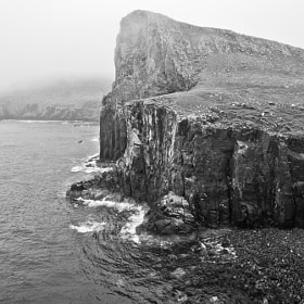 Neist point B&W by Jari Knuutila (knuutilajari)) on 500px.com