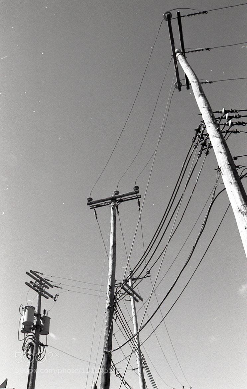 Photograph Power line by Sébastien Brodeur on 500px