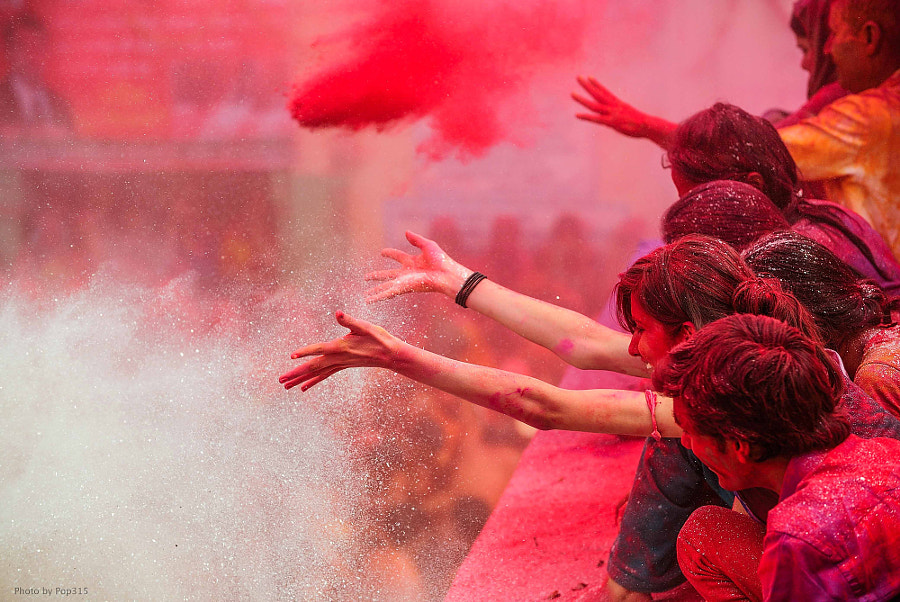 Colour Powder by Vichaya Pop on 500px.com