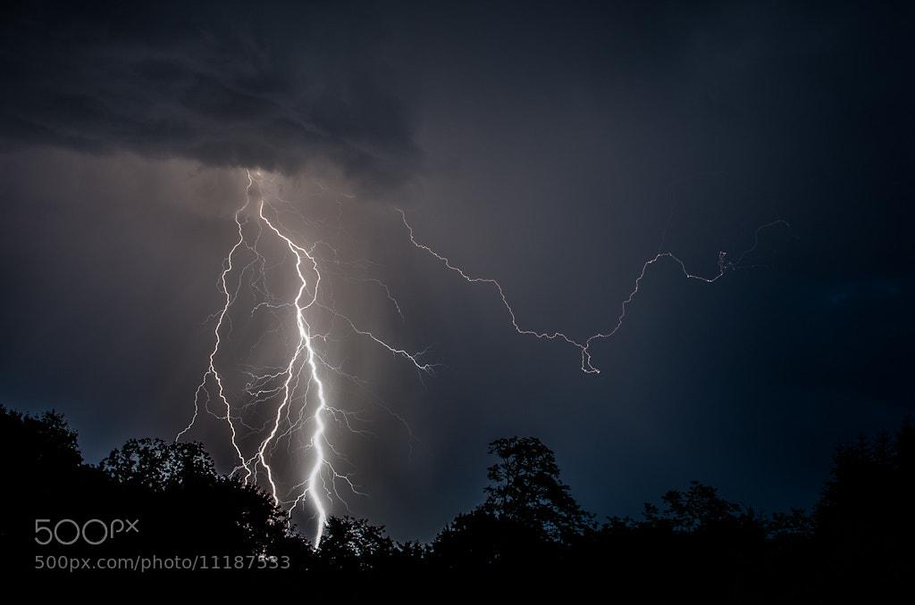 Photograph Summer Lightning by Scott Wood on 500px