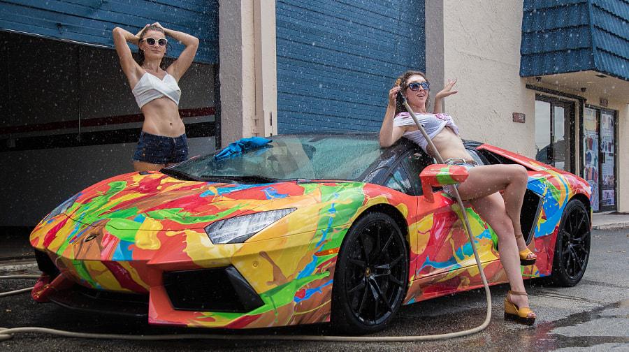 Girls and Aventador  by Yevgeniy Melnik on 500px.com