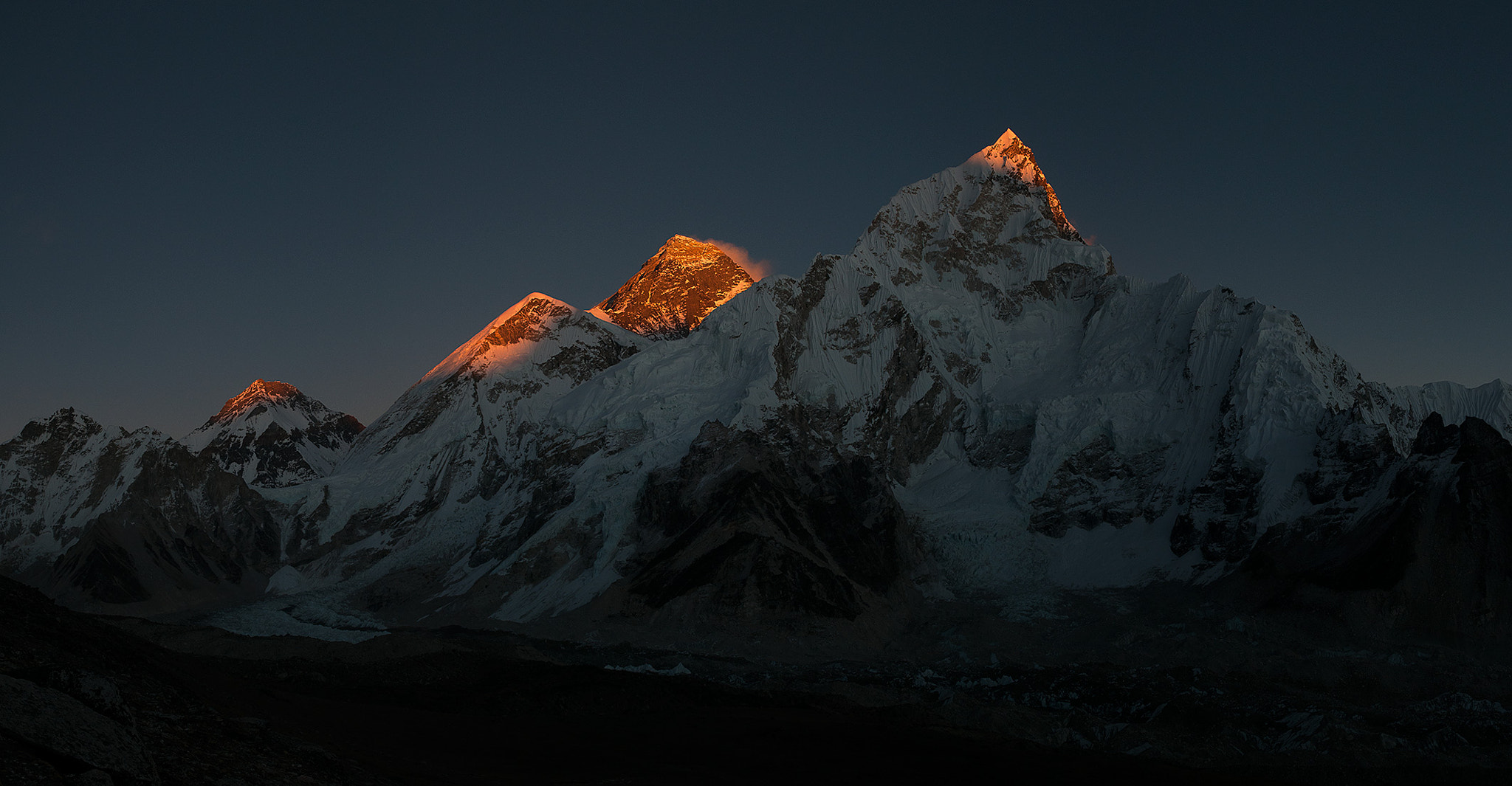Photograph Everest Pano by Arthur Fuse on 500px