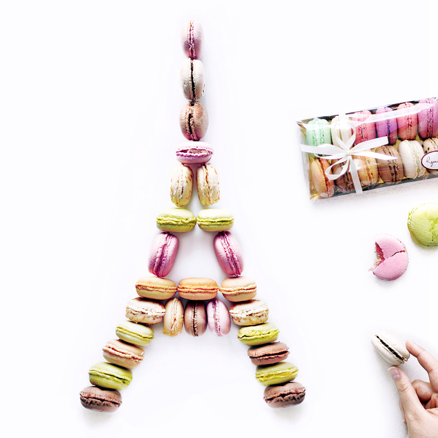 Macarons Tower by Daryna Kossar on 500px.com