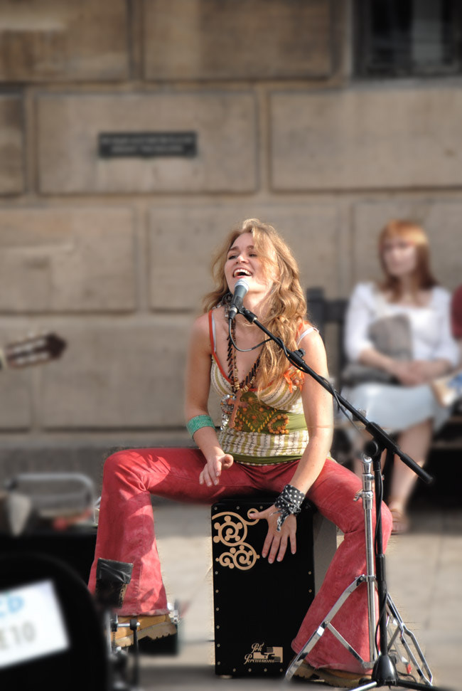 Photograph Busker by Ashley Carter on 500px