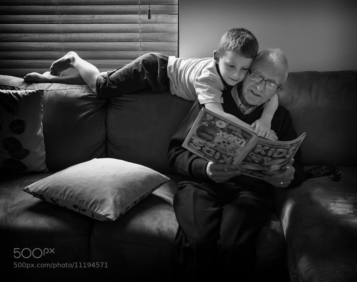 Photograph Grandas are special by David Donnelly on 500px