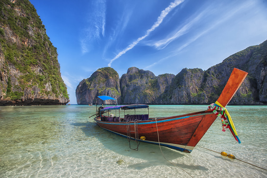 Maya beach by pawinee2910 on 500px.com