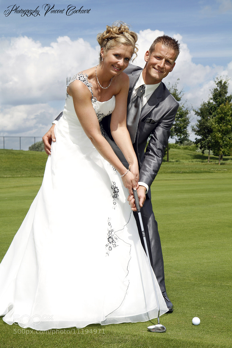 Photograph Wedding golf by Vincent Cockaert on 500px