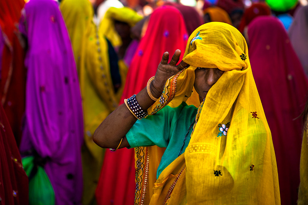 Photograph Indian laday by Ali Alsumayin on 500px