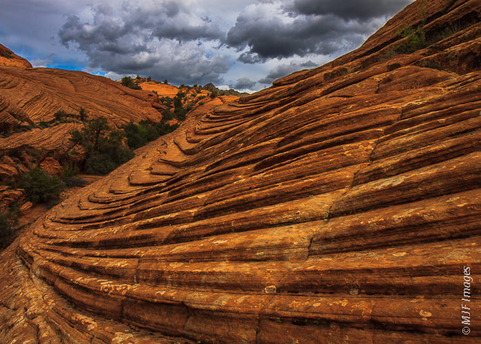 Photograph Layers in Sandstone by Michael Flaherty on 500px