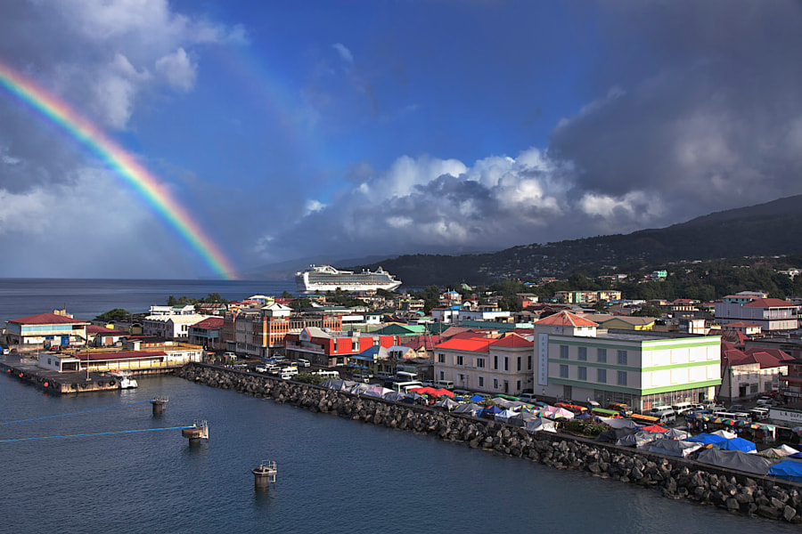 Photograph The Port of Roseau, Dominica by Murray MacLeod on 500px