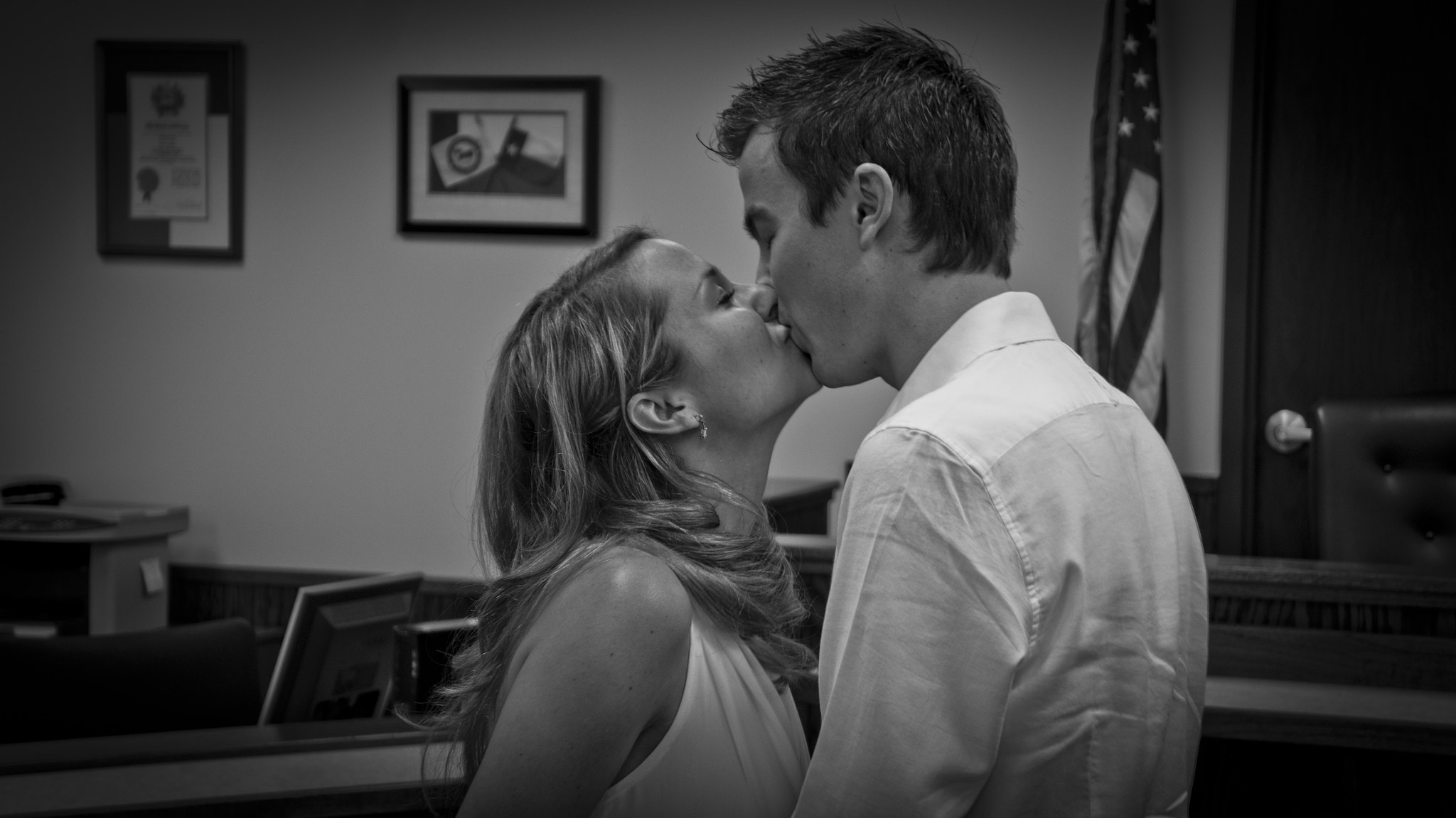 Photograph The Kiss by Dennis Boone on 500px