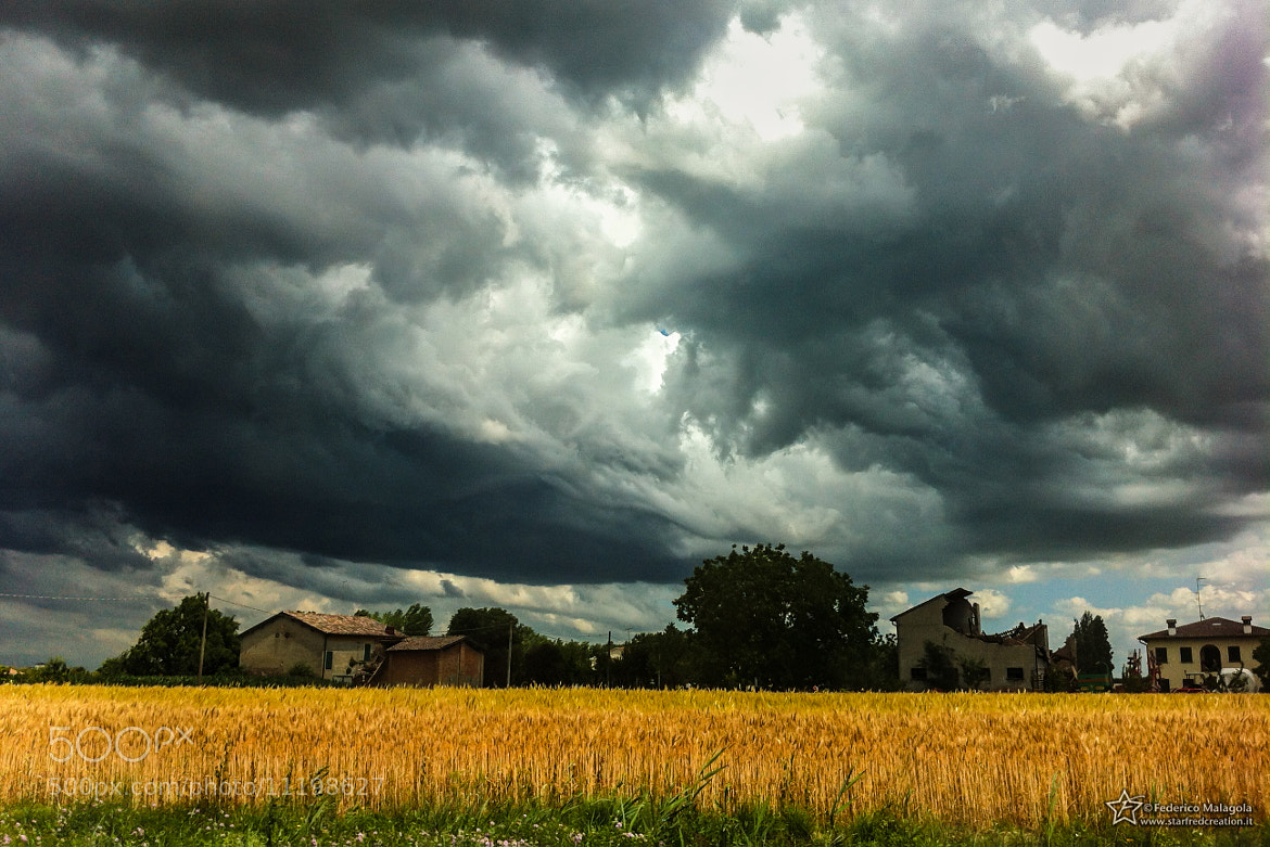 Photograph Dramatic Storm by Federico Malagola on 500px