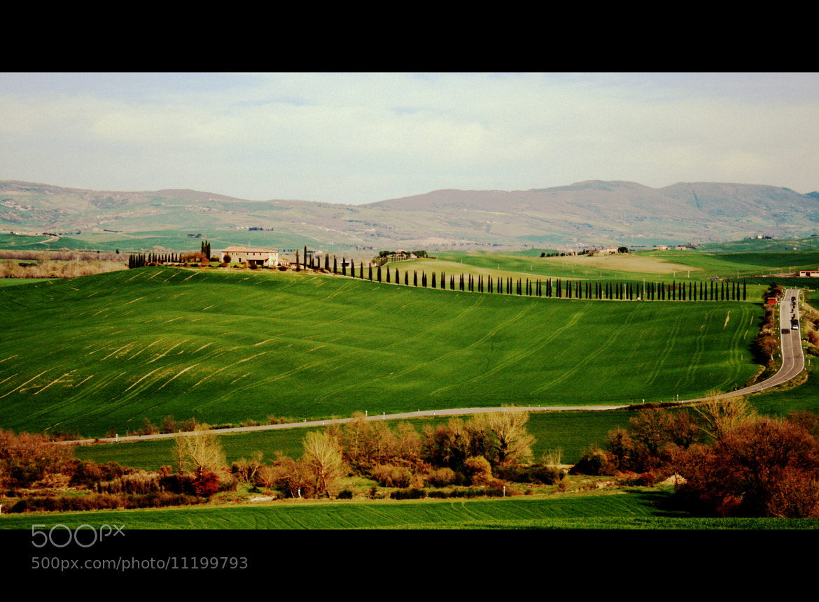 Photograph Val d'Orcia by Klizia  on 500px