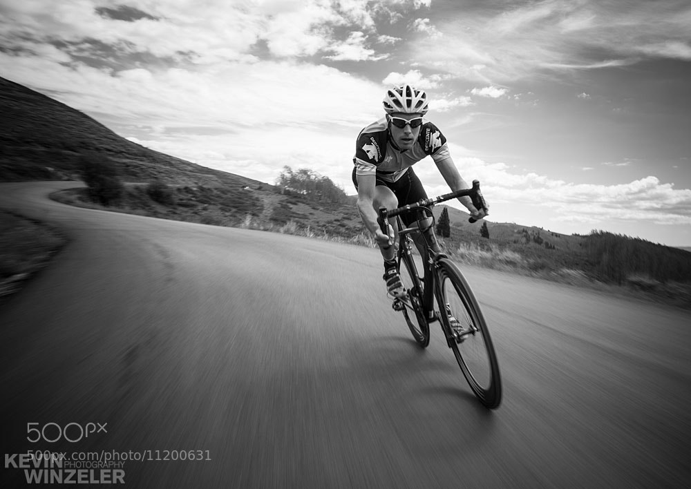 Photograph Descent on the Road Bike - Cycling in Utah by KevinWinzeler.com  ~ sports, lifestyle on 500px
