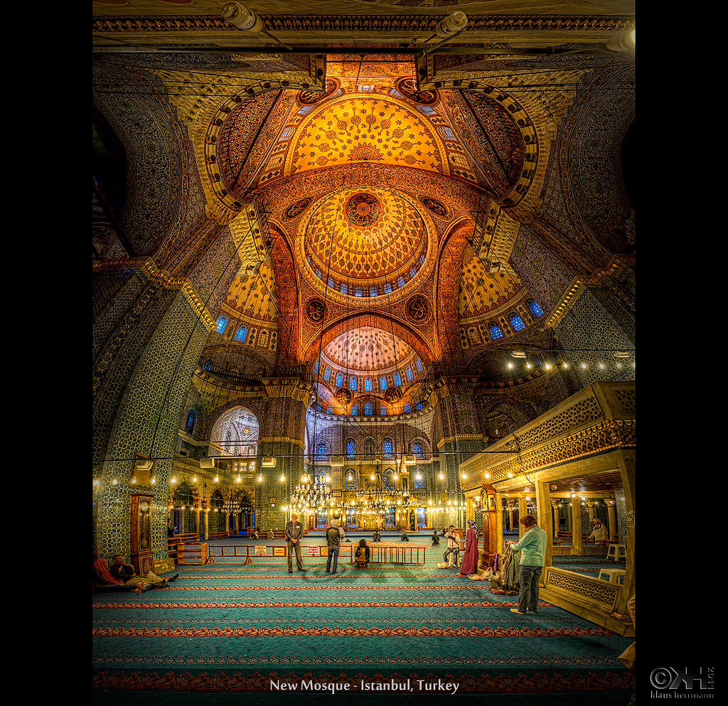 Photograph New Mosque (HDR Vertorama) by Klaus Herrmann on 500px