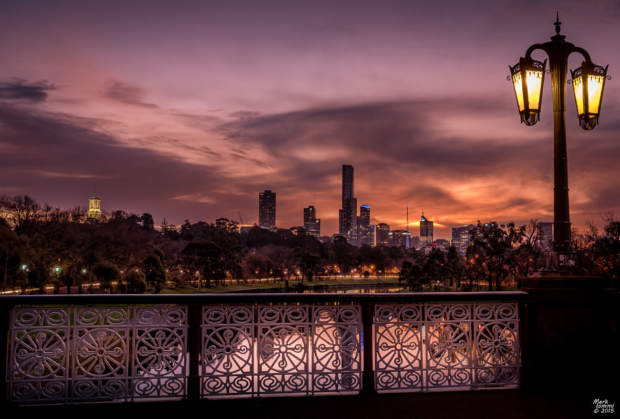 The City at Dusk from Morell Bridge by Mark Iommi on 500px.com