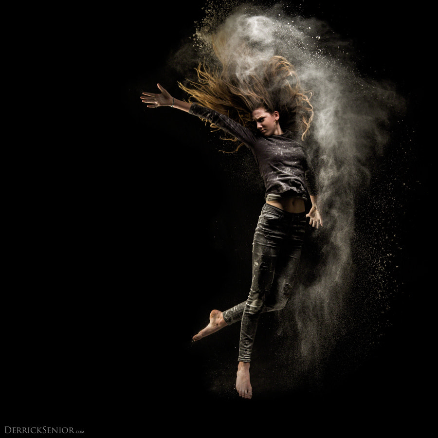 Photograph Powder Queen (my daughter) by Derrick Senior on 500px