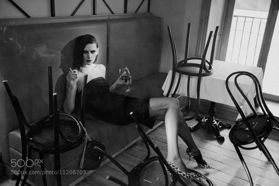 Photograph noir by Andy Tasher on 500px