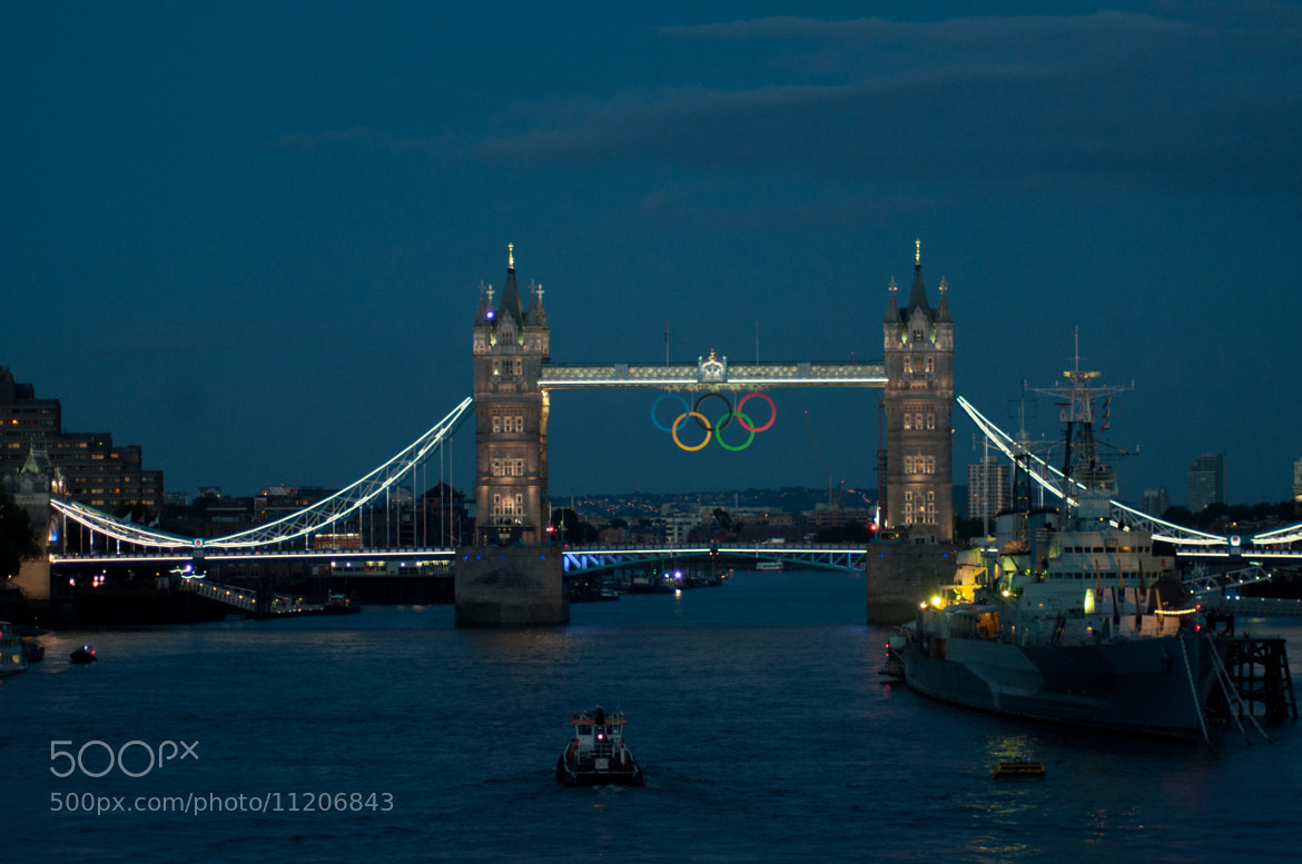 Photograph Golden Tower Bridge by Megan Trace on 500px