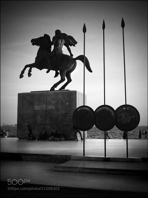 "Photograph ""ΕΣΤΙΝ ΟΥΝ ΕΛΛΑΣ ΚΑΙ Η ΜΑΚΕΔΟΝΙΑ"" by Kounoupis Anastasios  on 500px"