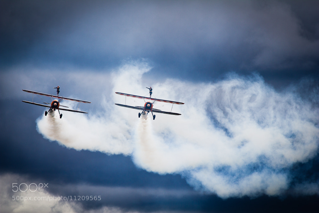 Photograph Breitling Wingwalkers by Daniel Gimbert on 500px