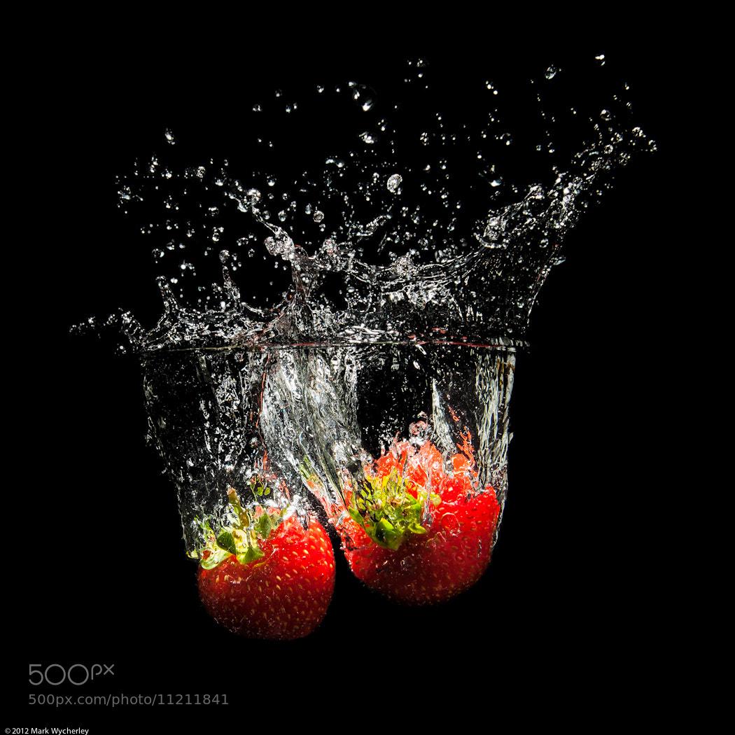 Photograph Strawberry splashdown! by Mark Wycherley on 500px