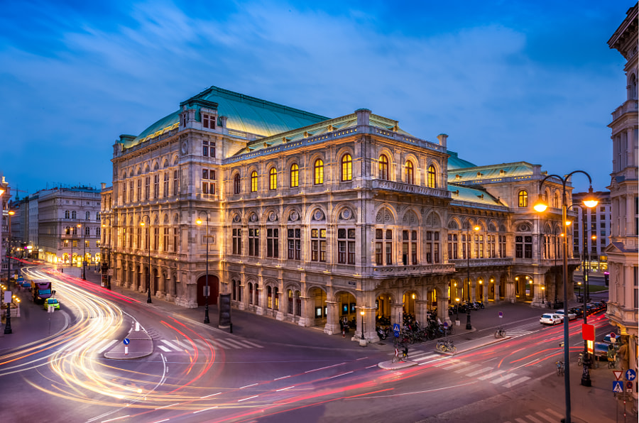 Vienna Opera by Christian Thür on 500px.com