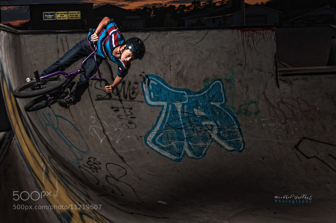 Photograph Riding The Bowl. by Michael Gallant on 500px