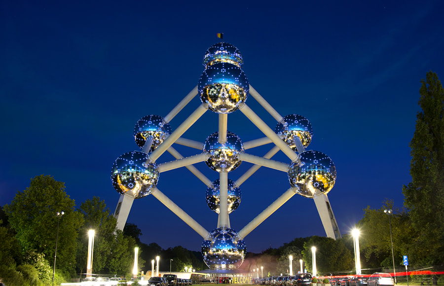 Atomium by Roberto Moreno Mateos on 500px.com