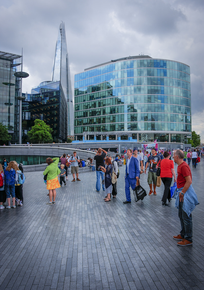Photograph The Shard from the Southbank by Donald Davis on 500px