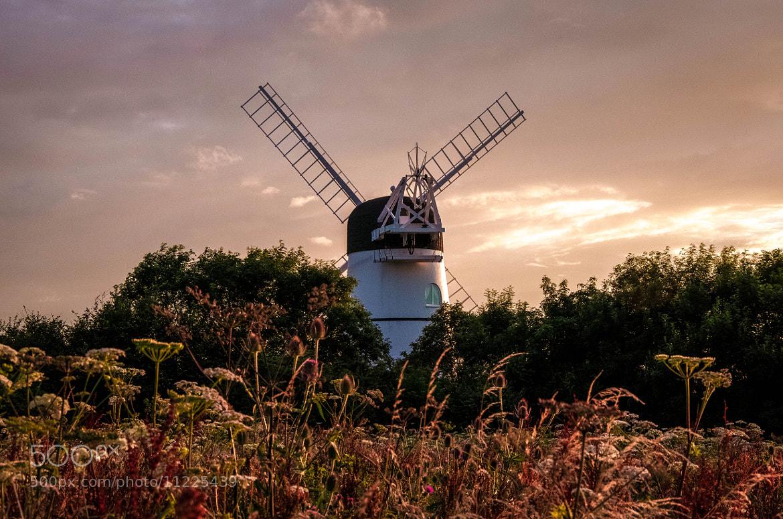 Photograph Windmill at Dusk by julian john on 500px