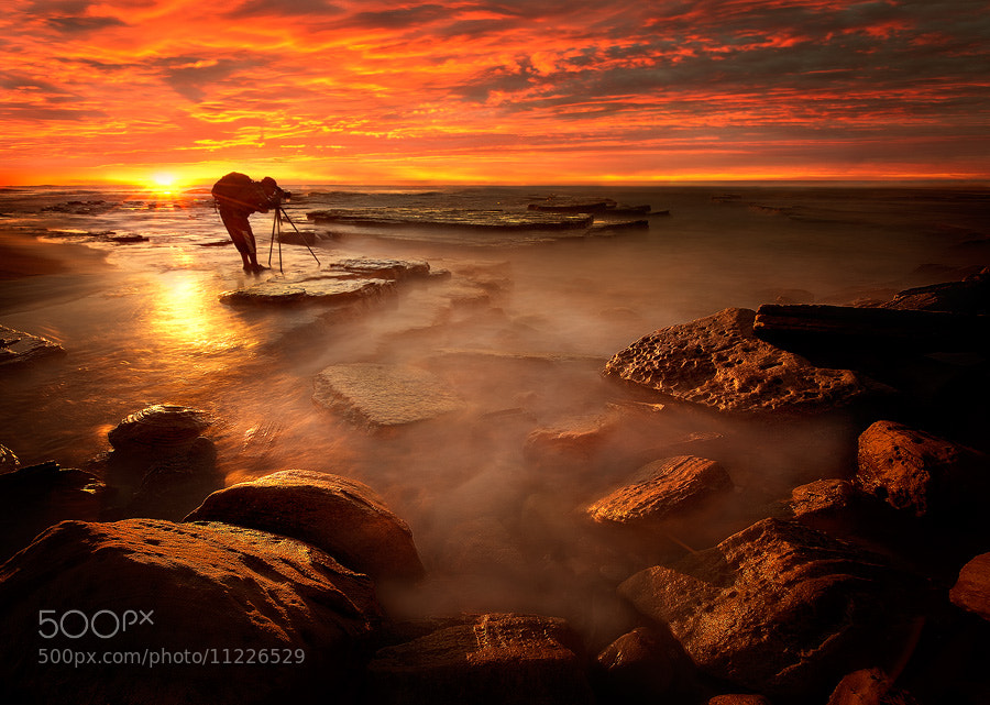 Photograph Fire  on Turimetta by MooGroB ^oo^  on 500px