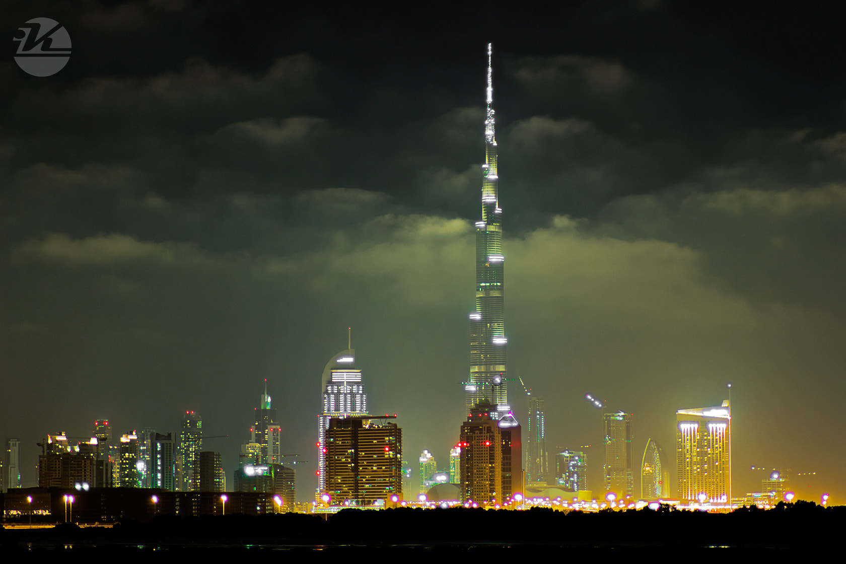 Photograph Dubai Night by Khaldoon Maliki on 500px