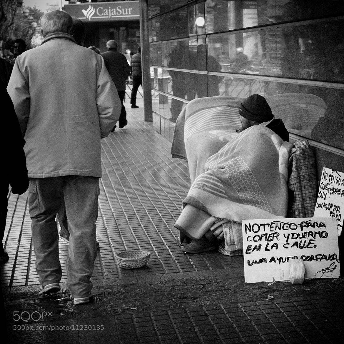 Photograph Homeless by Luis Zafra on 500px