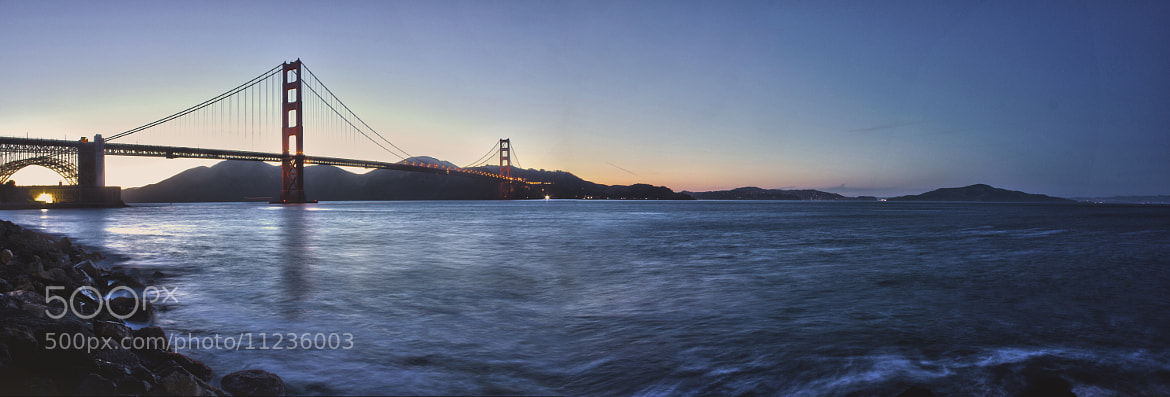 Photograph Golden Gate Pan by Kyle Stilwell on 500px