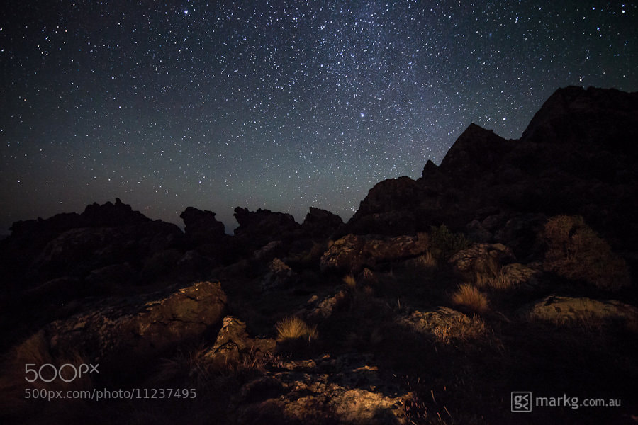 Photograph Star Chasing | Cape Paliser | 17 Mar 2012 by Mark Gee on 500px