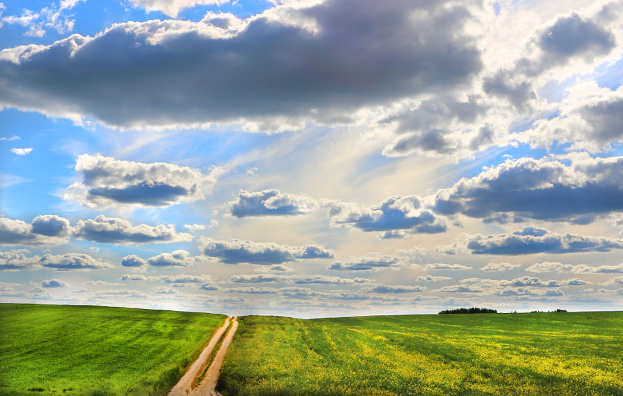 Road to the sky, автор — Vadzim Kelin на 500px.com