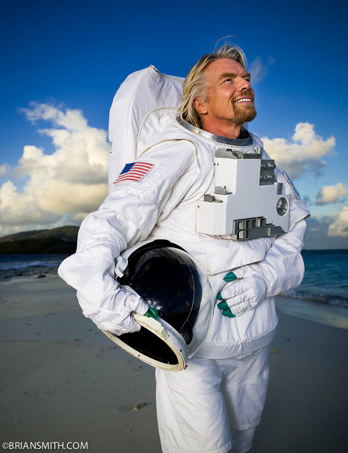 Richard Branson photographed on Necker Island by Brian Smith on 500px.com