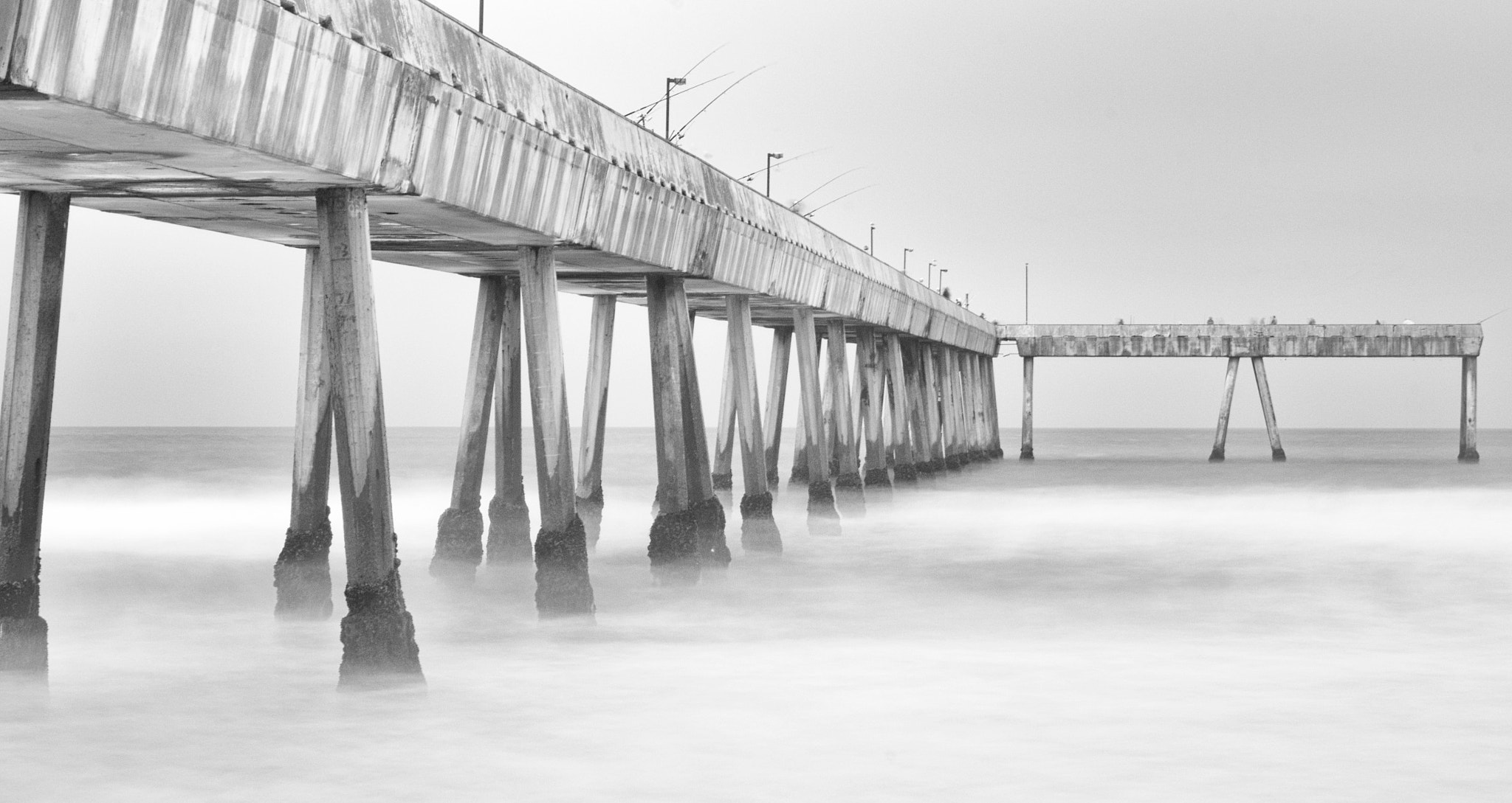 Photograph Fishing Pier by Kevin Curtin on 500px
