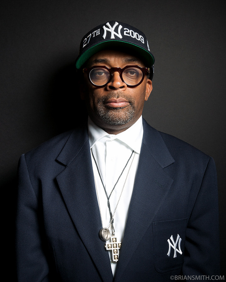 Photograph Spike Lee photographed for 'Art & Soul' at the Library of Congre by Brian Smith on 500px