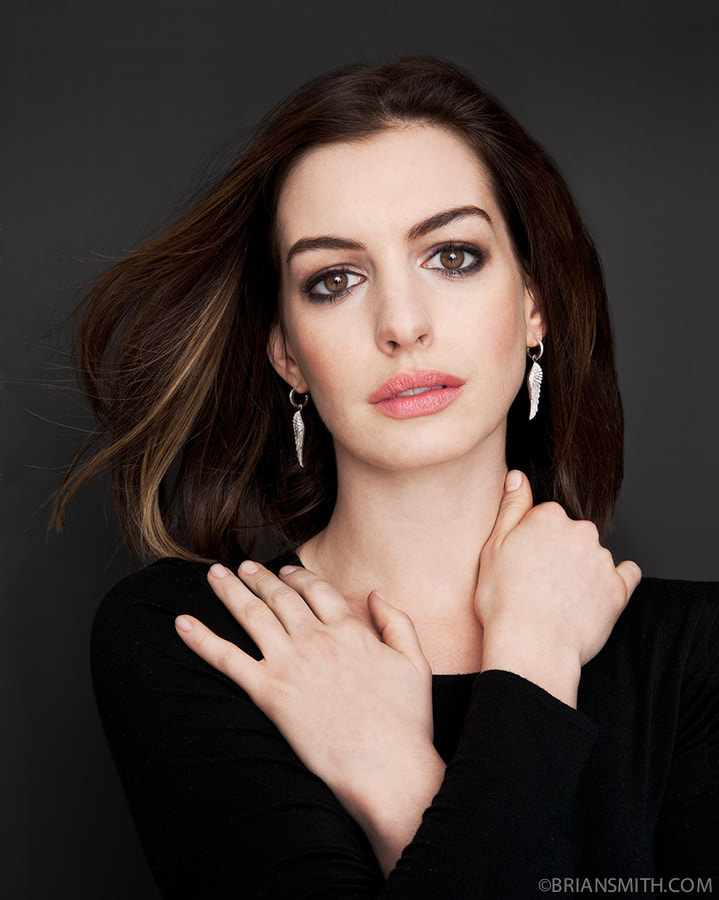 Photograph Actress Anne Hathaway by Brian Smith on 500px